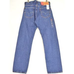 Levi's Jeans - Levi 505 jeans 34 x 32 NWT dark 100% cotton